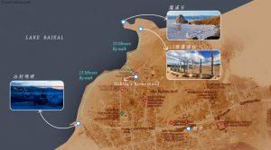 胡日爾村地圖