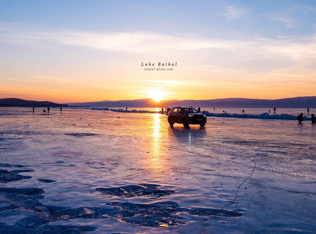 貝加爾湖夕陽