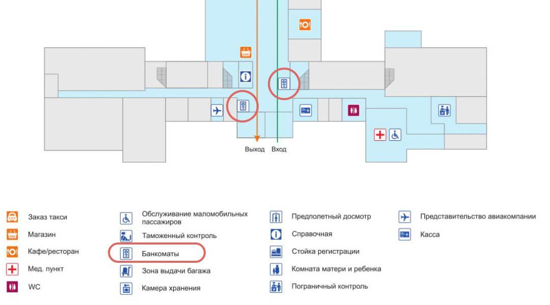 伊爾庫次克機場換匯ATM