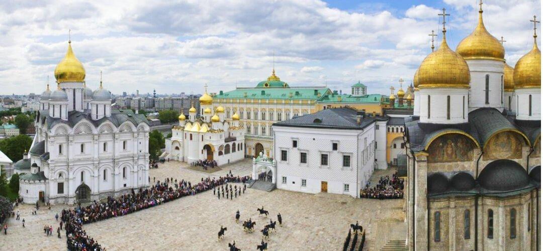 莫斯科旅遊景點克里姆林宮