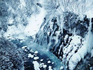 白鬚瀑布冬