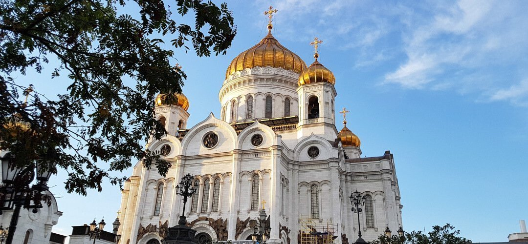 莫斯科旅遊景點基督救世主教堂