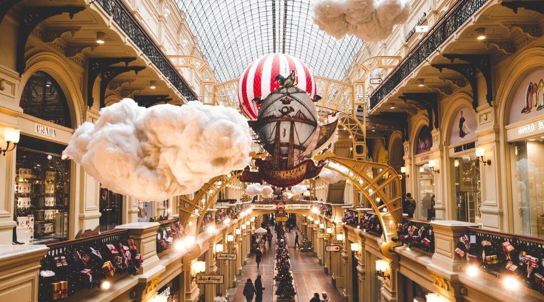 莫斯科旅遊景點GUM國家百貨商場