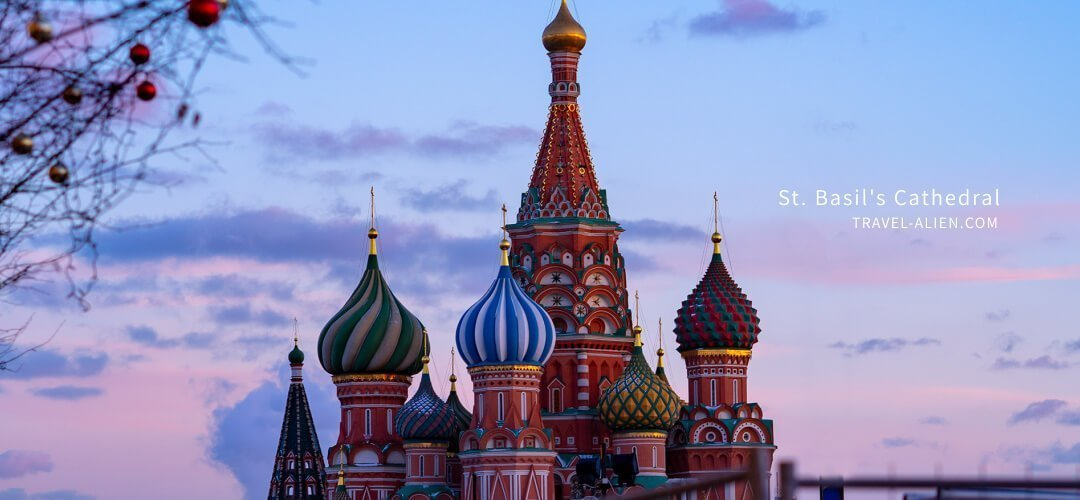 莫斯科旅遊景點聖瓦西里主教座堂