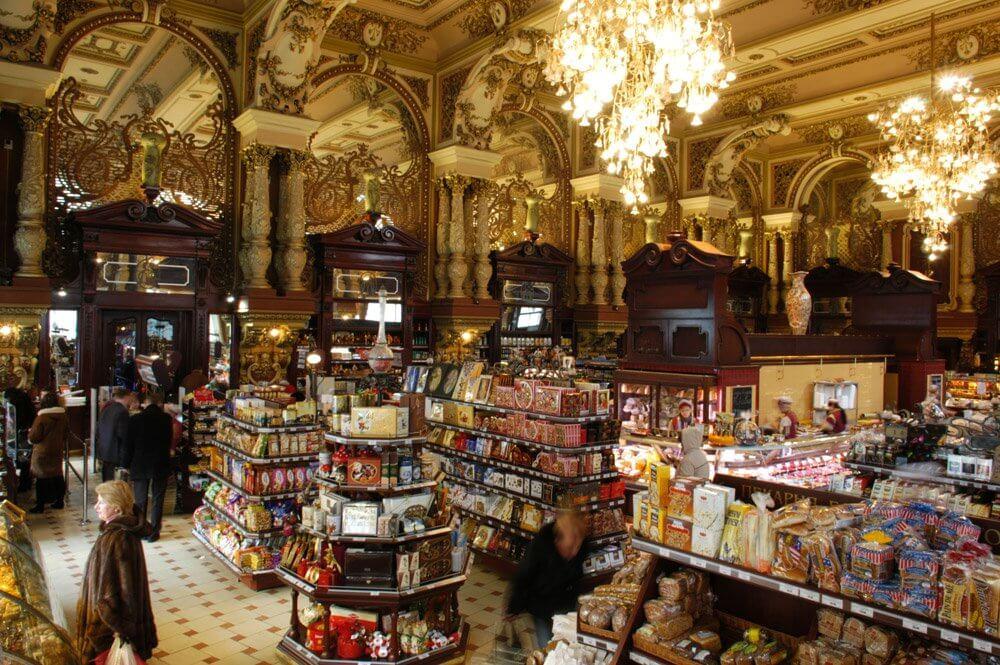 莫斯科旅遊景點耶利謝耶夫斯基超市