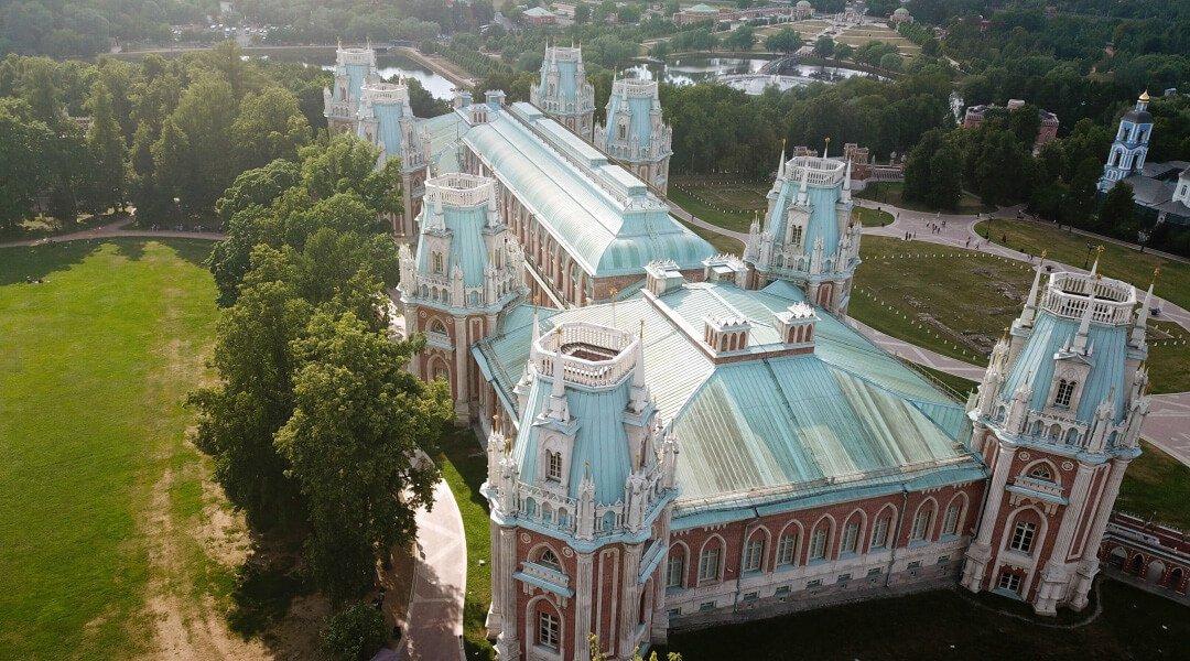 莫斯科旅遊景點察里津諾公園