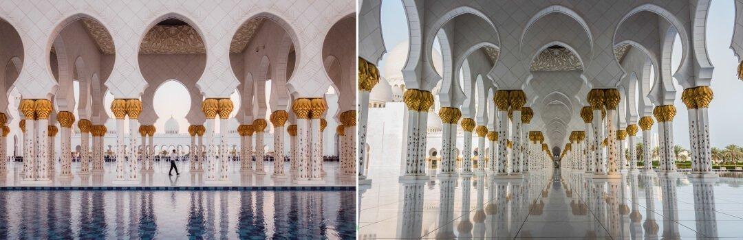 阿布達比景點清真寺