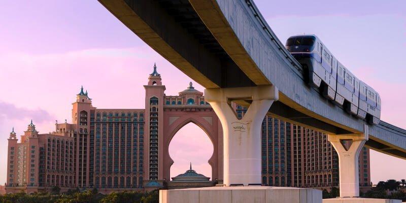 杜拜棕櫚島電車Monorail