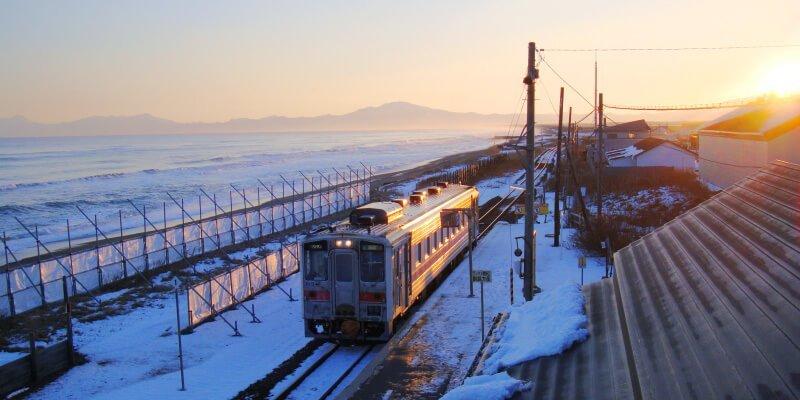 北濱站看流冰