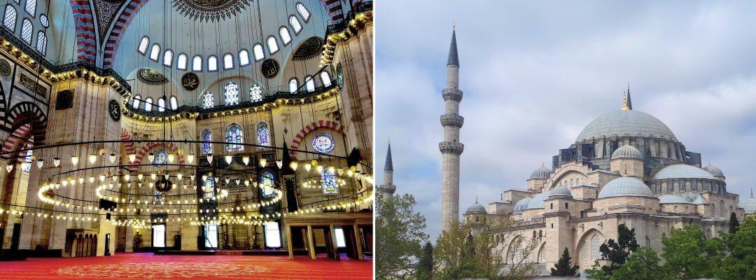 伊斯坦堡景點-蘇萊曼尼耶清真寺