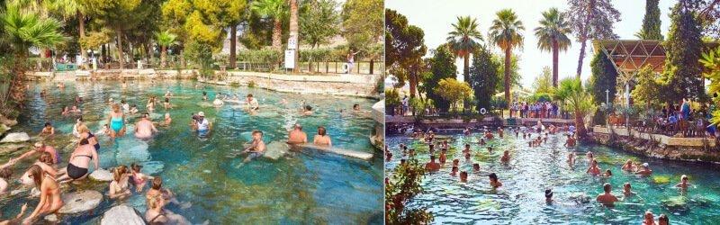 棉堡古董游泳池