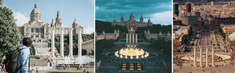 巴塞隆納魔幻噴泉