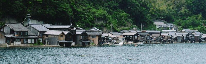 京都景點伊根舟屋