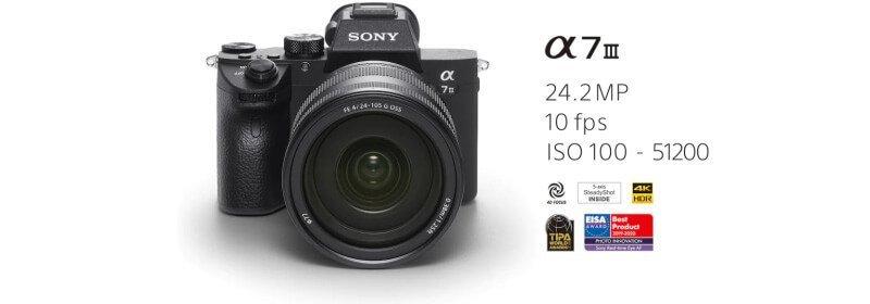 旅遊攝影裝備A7M3