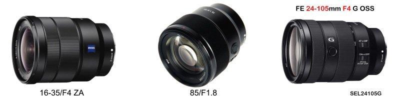 旅遊攝影裝備SONY鏡頭